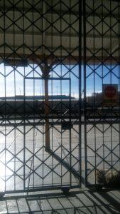 gare d'Oruro, il est 8h