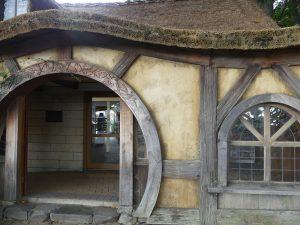 entrée de la maison hobbit