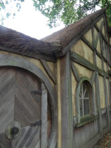 porte fermée hobbit