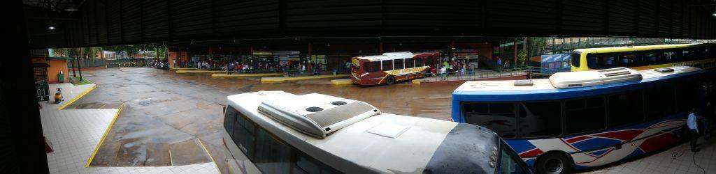 Terminal de bus à Puerto Iguazu
