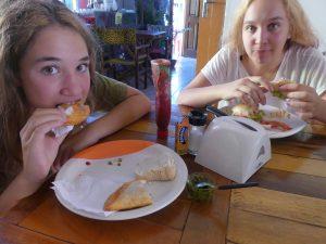 Miam ! Empanadas et sandwiches !
