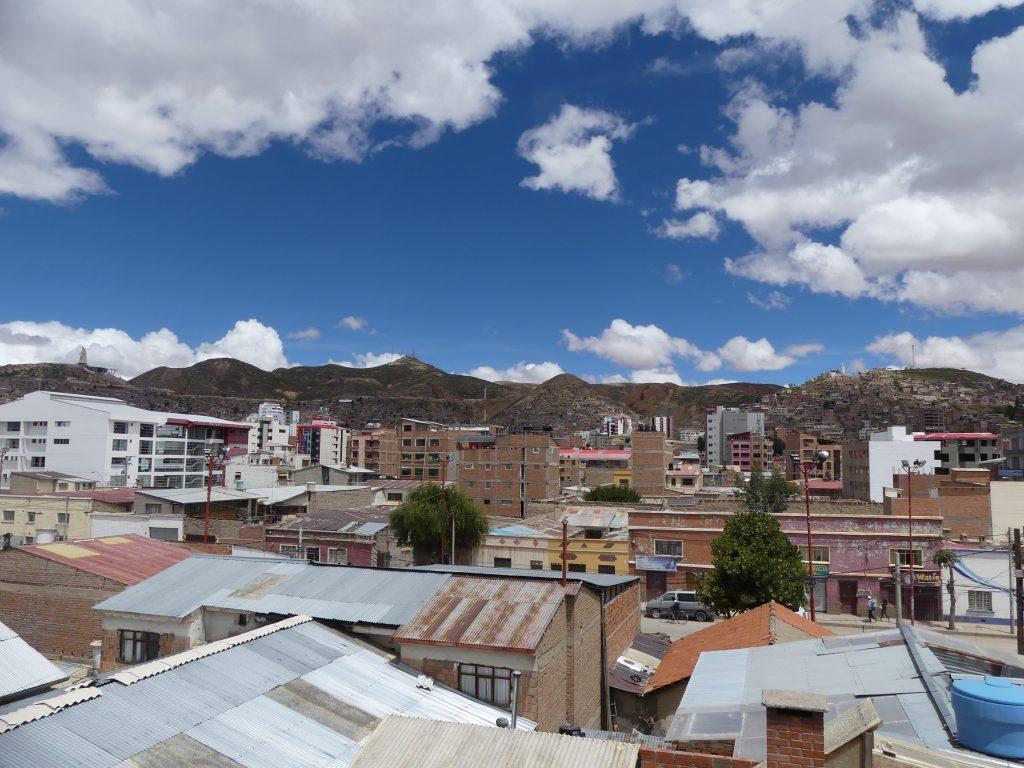 Oruro sous le soleil