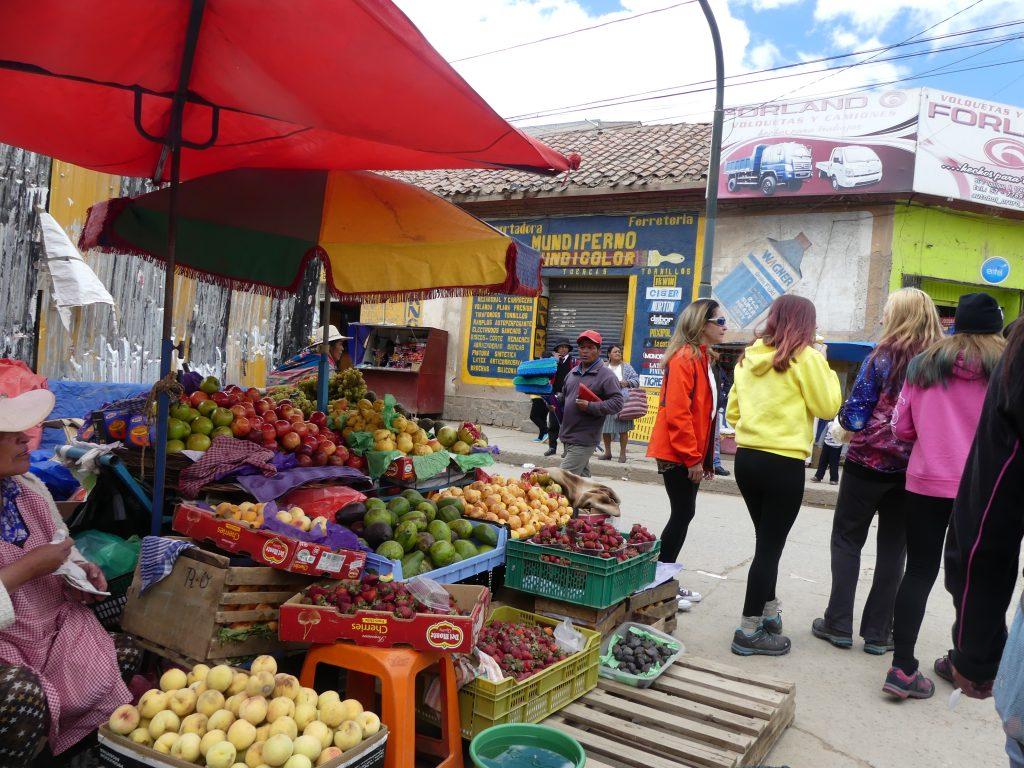 Au marché d'Oruro