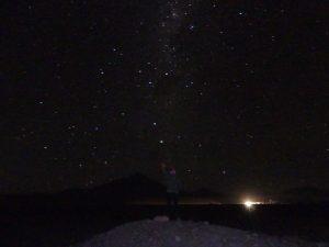 A plus de 4000 m d'altitude les étoiles sont tellement belles