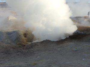 Geyser sulfureux