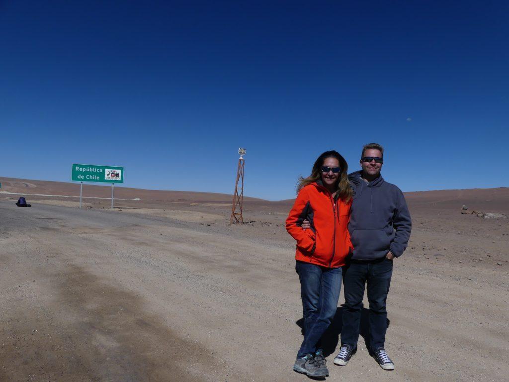 Frontière : bienvenue au Chili !