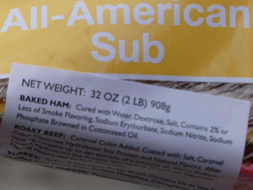Non, vous ne rêvez pas, le sandwich fait presque 1 kg