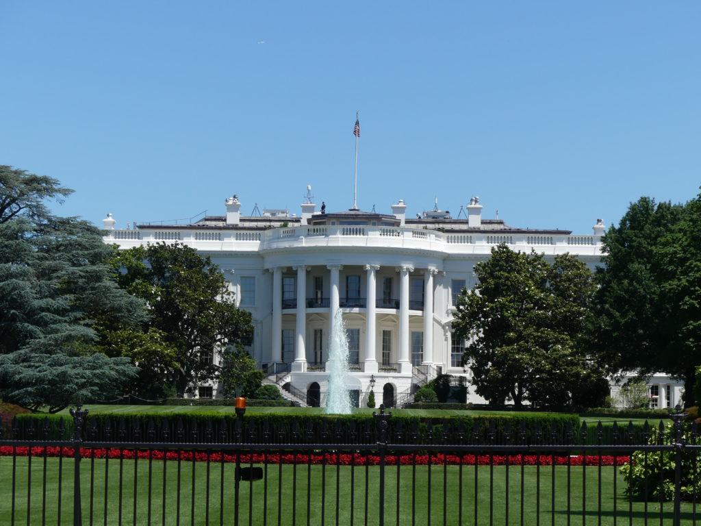 La Maison Blanche, face Sud