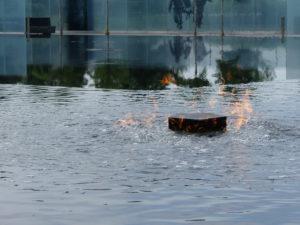 De l'eau, du feu...