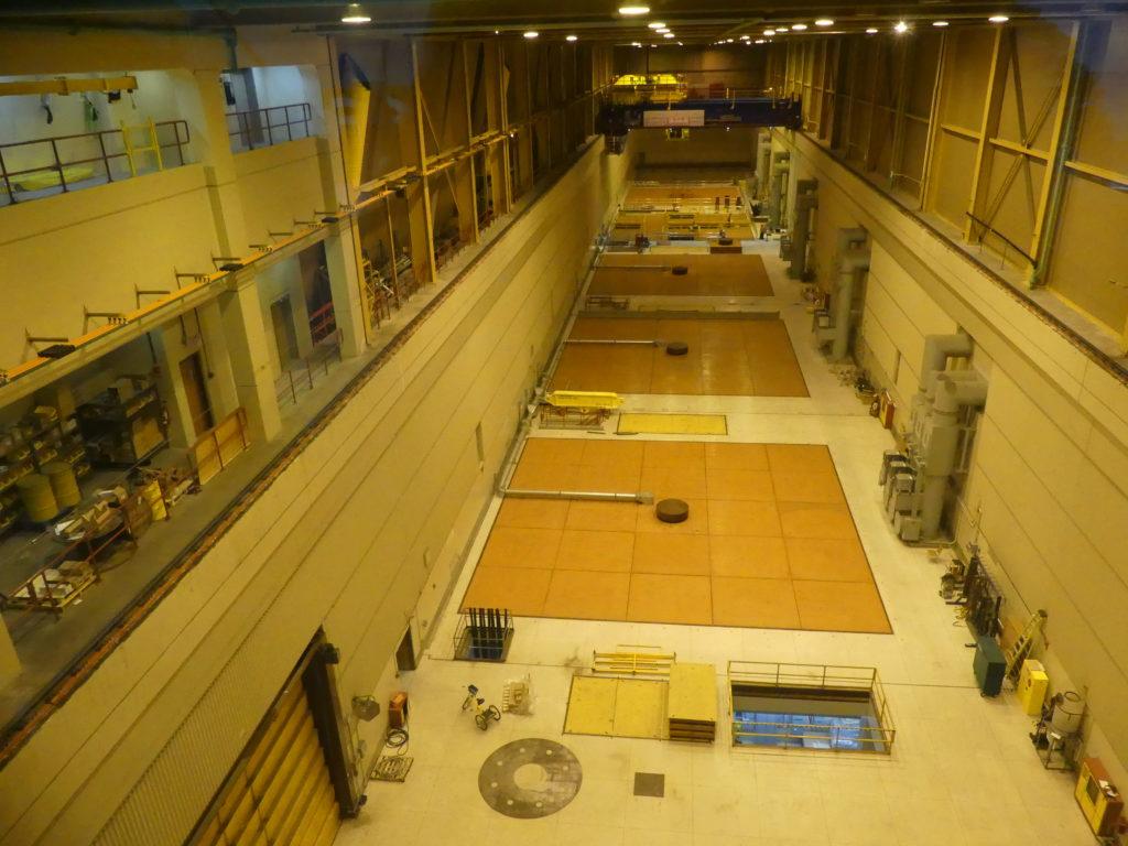 Revelstoke Dam : la salle des machines