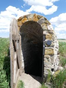 La porte des enfers ? Ou un accès à un lieu secret ?