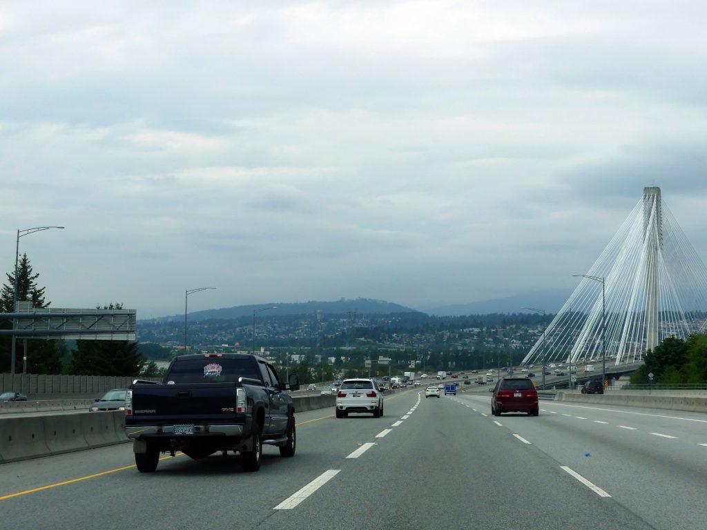 Vancouver : le grand pont de la Trans-Canada n°1