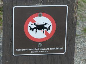 Drones interdits