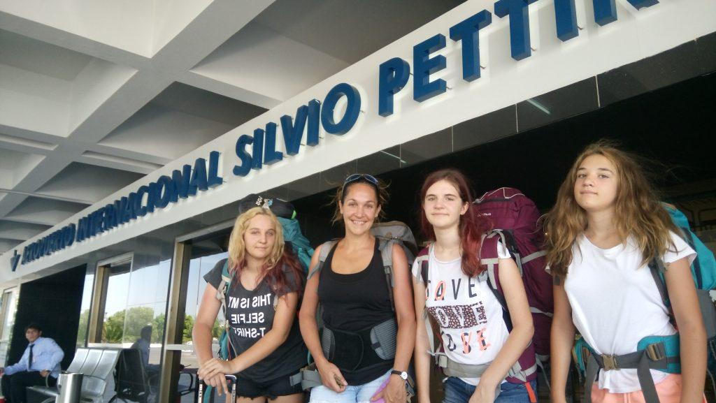aéroport : départ du Paraguay