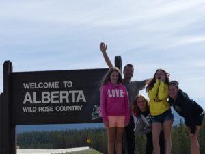 La famille Bourgeois en Alberta