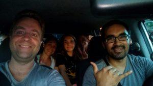 chauffeur de taxi à Asuncion