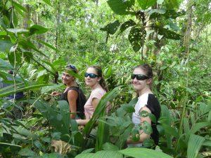 en pleine jungle