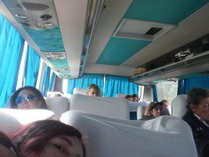 à bord du bus de Montevideo à Salto