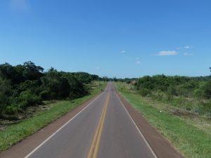 route au Paraguay