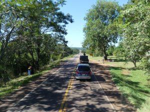 en route vers Asuncion