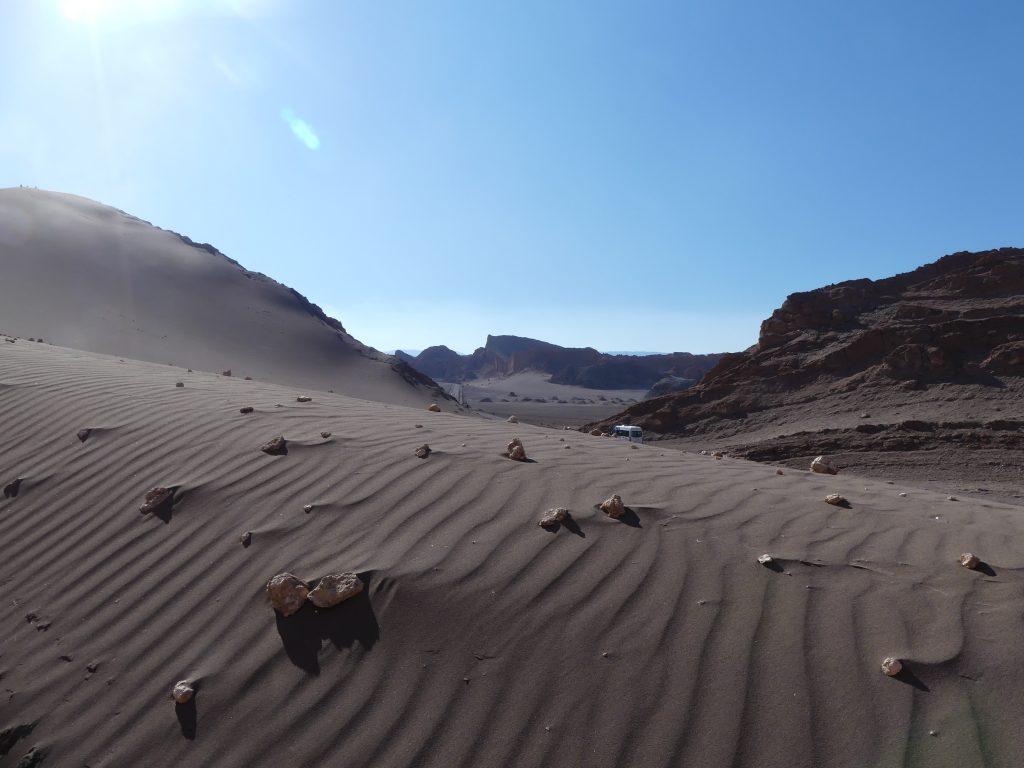 la vallée de la Lune, Atacama, Chili