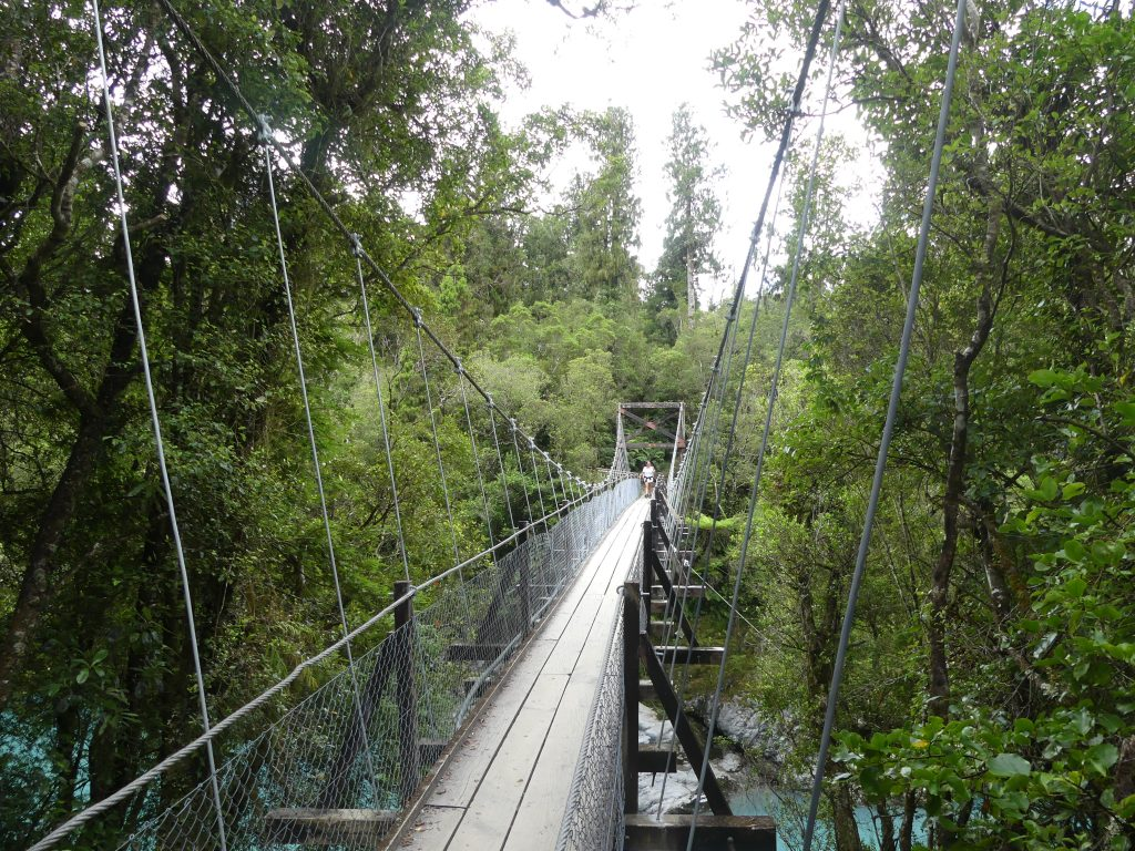 gorge swinging bridge