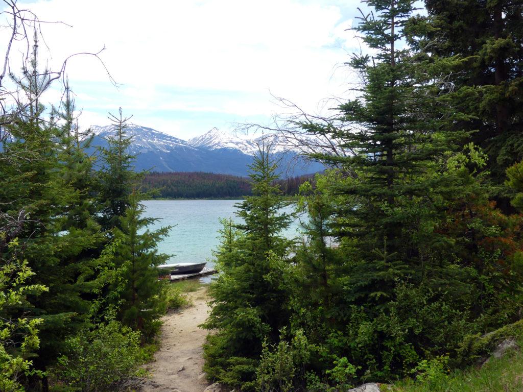 Jasper : le lac Patricia