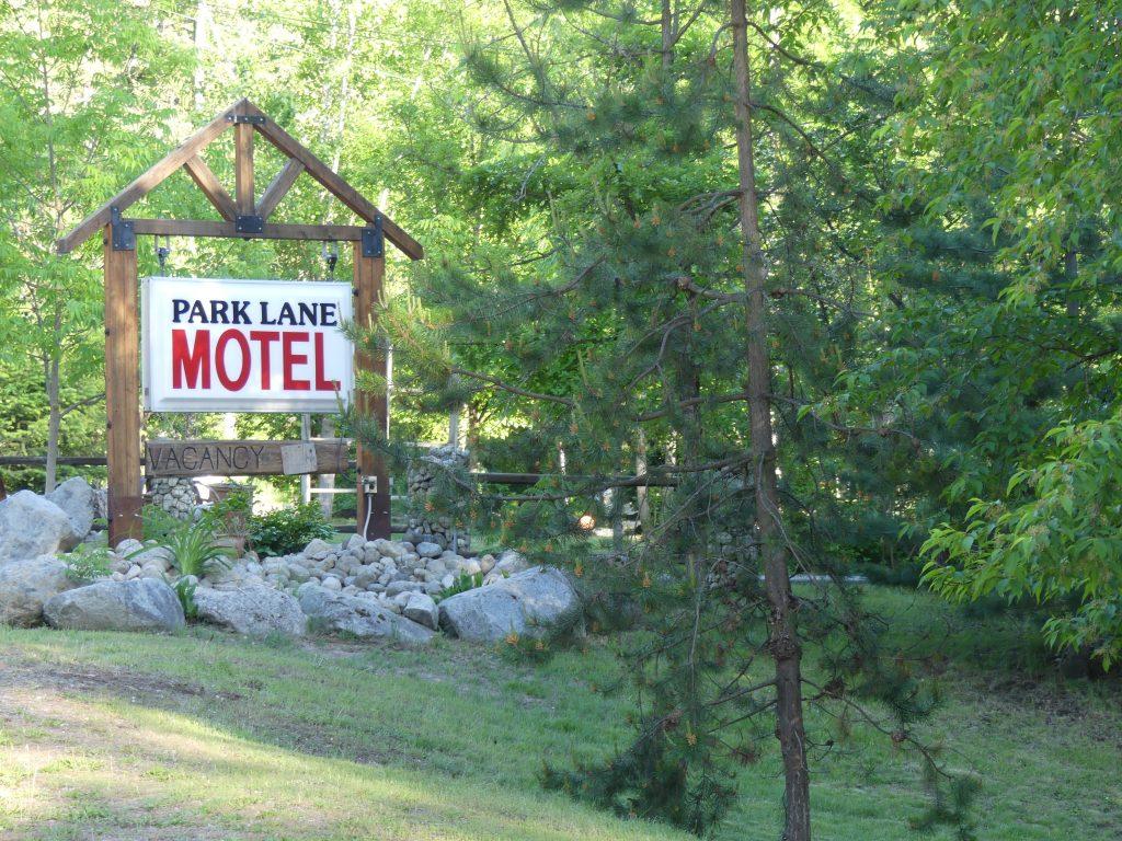 Notre motel au bord du lake Christina