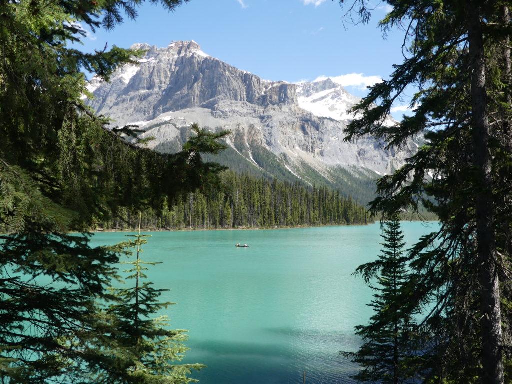 Ah, enfin une vraie photo du lac !