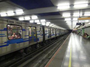 le métro à Santiago
