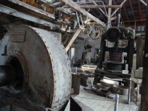 Les anciennes machines à courroies