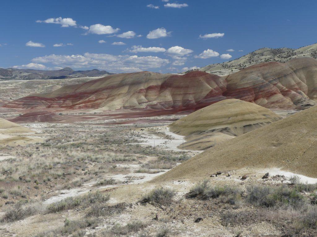 une autre vue de painted hills