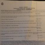 règles et questionnaire du Shooting Range