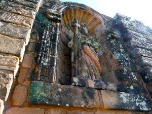 quelques statues religieuses sont encore là