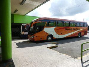 terminal de Cariari : un bon bus maintenant !