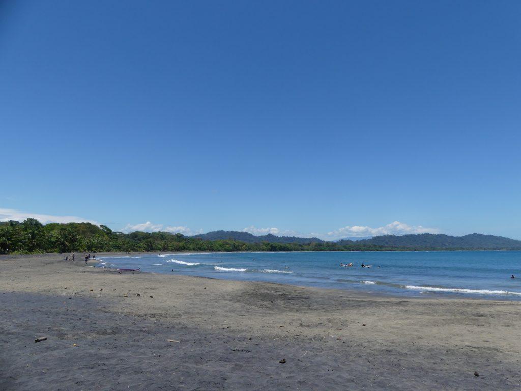vue de la baie de Puerto Viejo