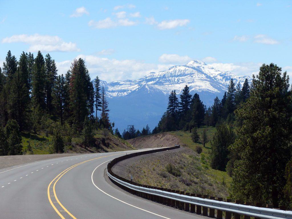 traversée de l'Oregon oriental en direction de 'Ouest