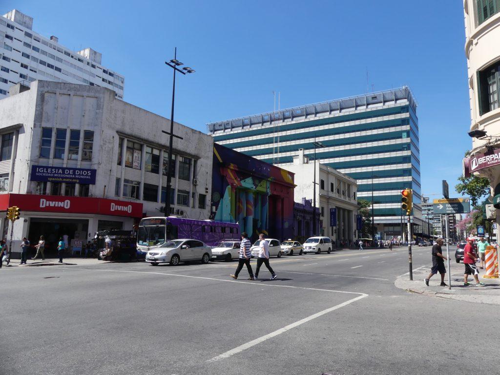 une rue de Montevideo