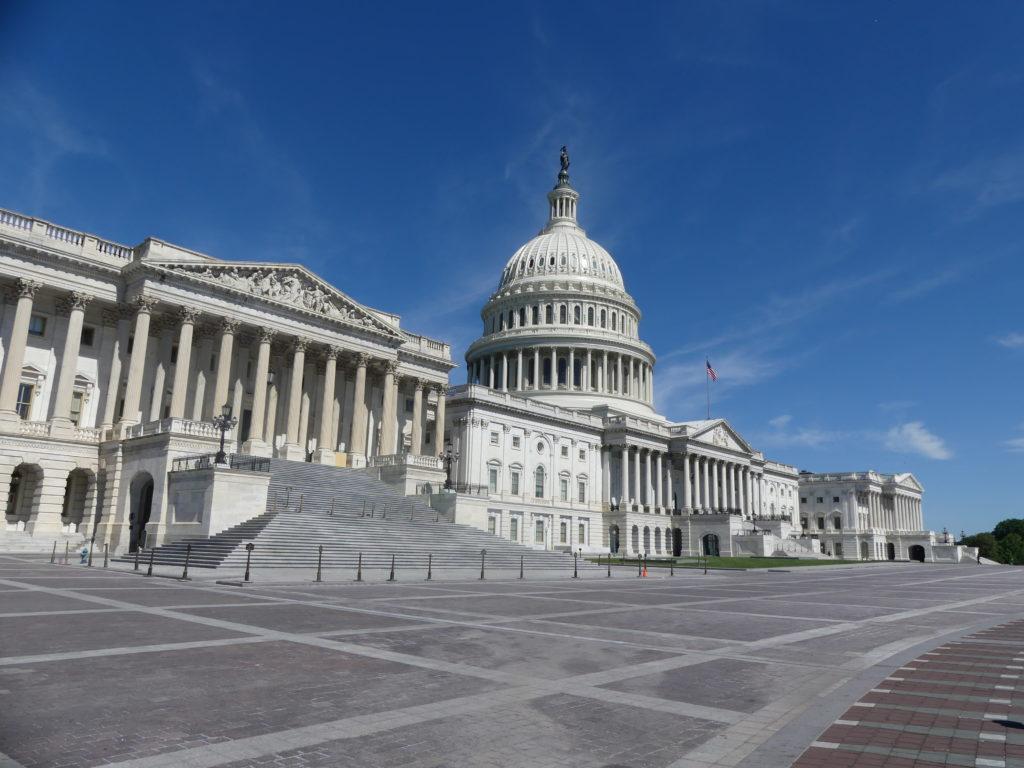 visite du Capitole : les extérieurs, de jour