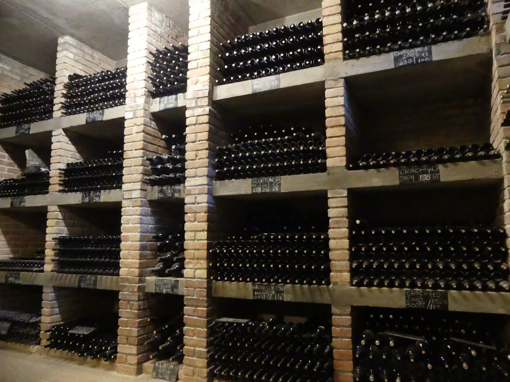 réserve de vieilles bouteilles