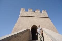 Olivier en haut de la muraille