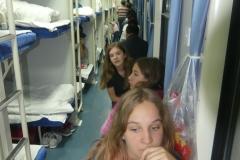 Dans le train, il y a des strapontins ou des couchettes
