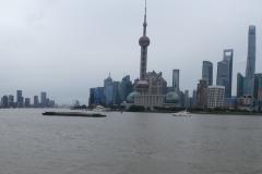 le port ferry de Shanghai est à côté du bund