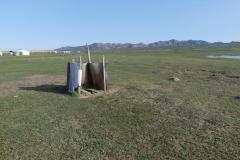 WC au désert