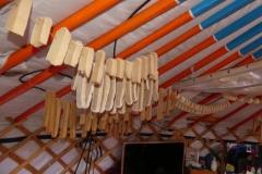 Les fromages suspendus