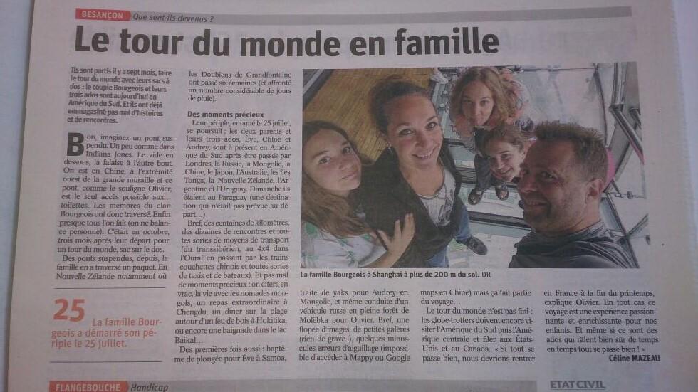 article Est Republicain 2018 02 27