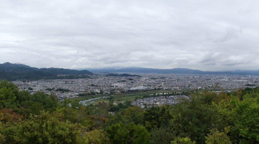 Kyoto, vue panoramique