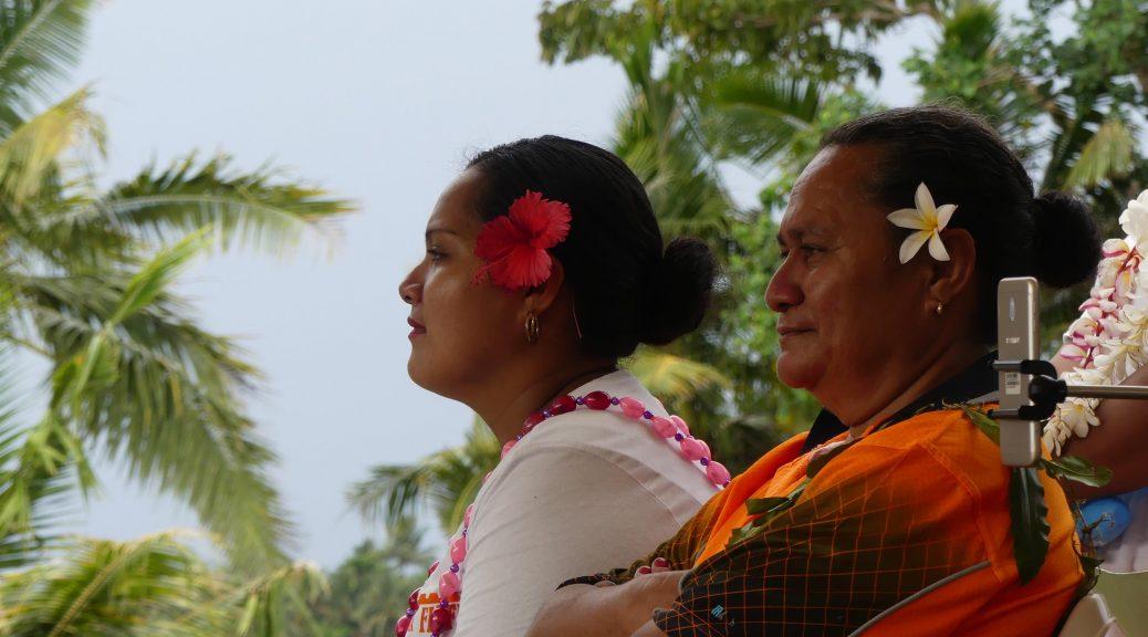 officiels à Samoa