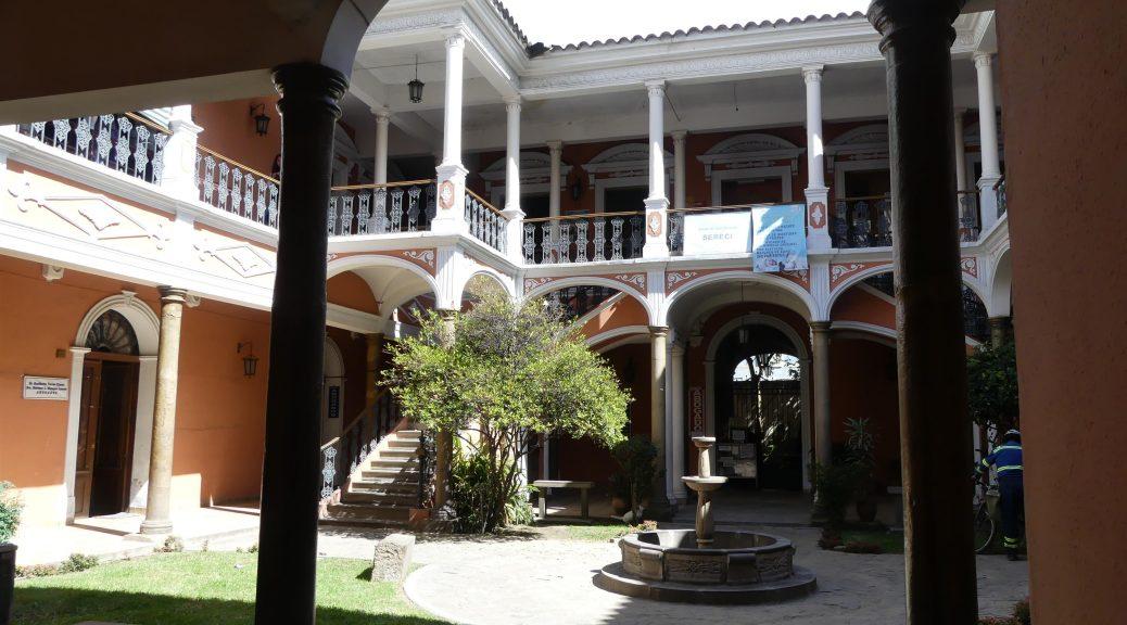 Cochabamba, bâtiment administratif
