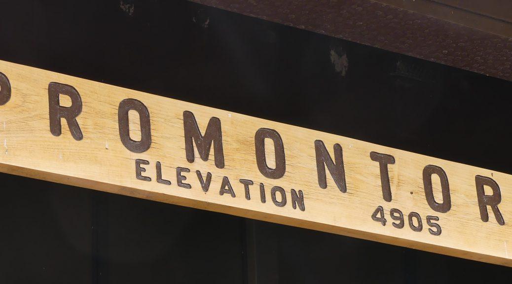 Promontory - golden spike , Utah